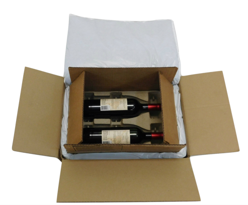 Insulated shipping wine