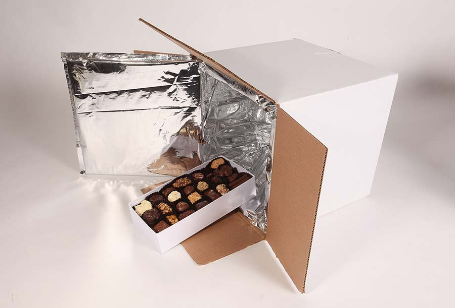 How to ship chocolate products