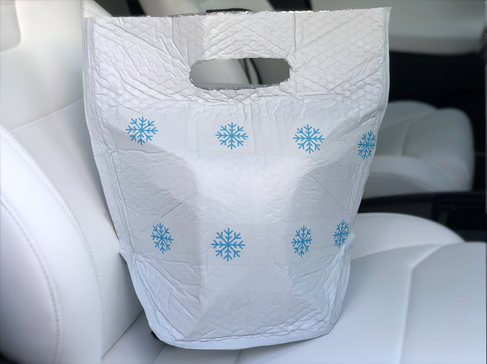 Cold Food Delivery Bags
