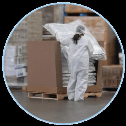 PopupLiner Insulated Box Liner Compressed