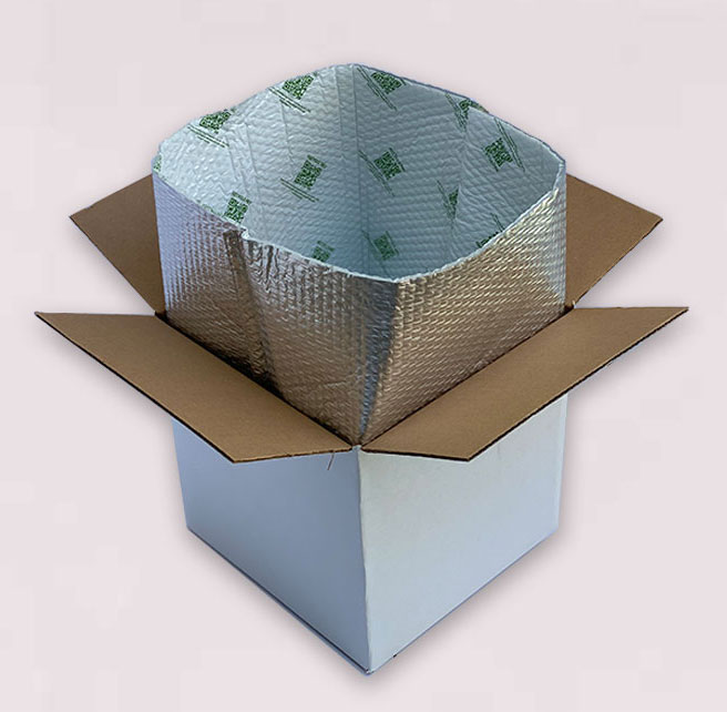 Recyclable Insulated Box Liner