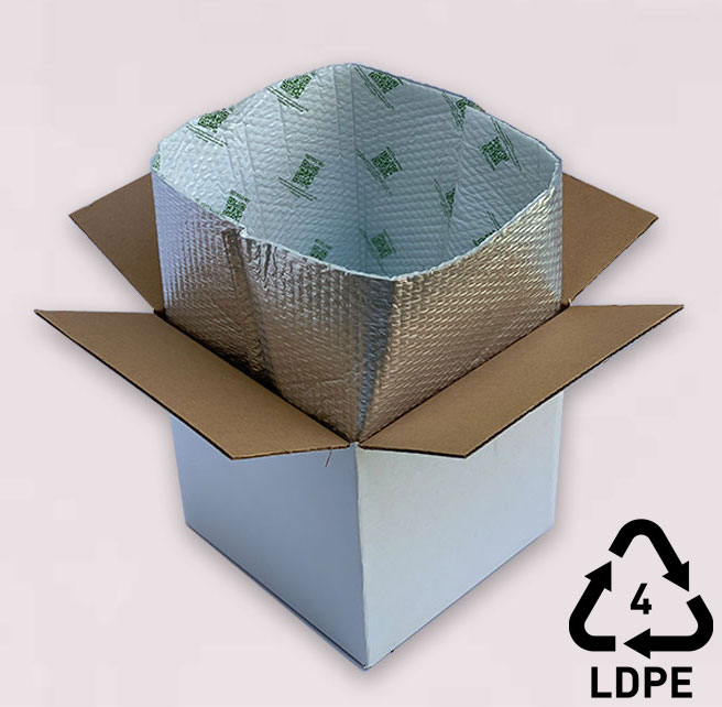 Sustainable Insulated Box Liner